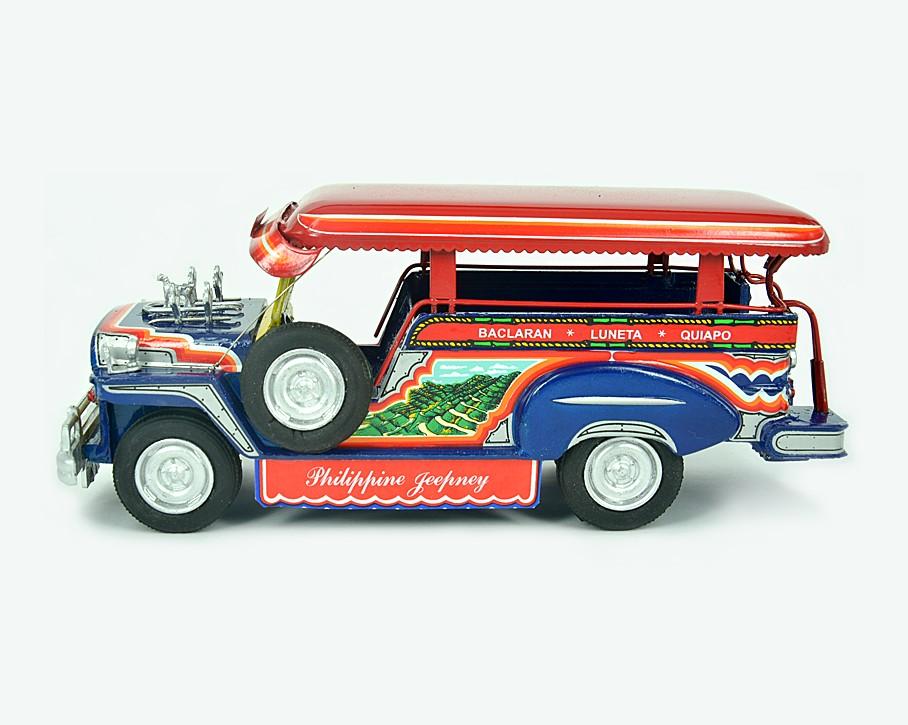 Aluminum Alloy Miniature Jeepney